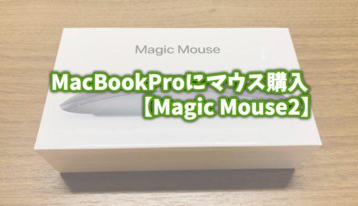 MacBookProのマウス『Magic Mouse2』を購入した